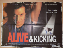 Alive and Kicking (1996) - Jason Flemyng | British Quad Poster